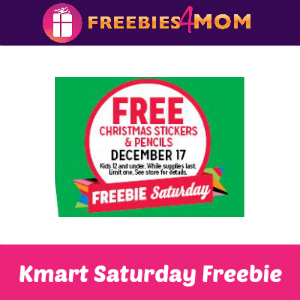 Free Christmas Stickers & Pencils at Kmart