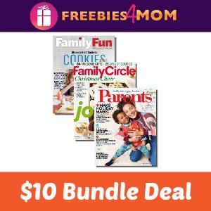 $10 Family Fun, Family Circle & Parents Bundle