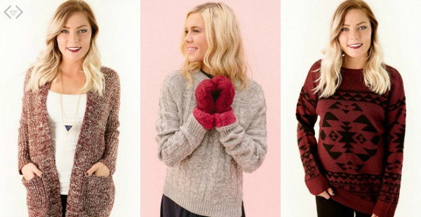Sweaters Starting Under $20