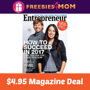 Magazine Deal: Entrepreneur $4.95