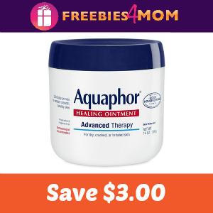 Coupon: $3.00 off one Aquaphor