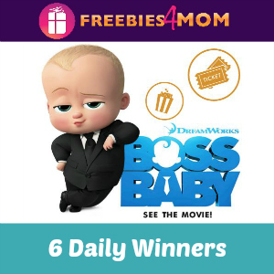 Sweeps Barbara's Boss Baby Movie Giveaway