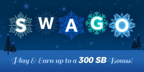 Play Swago Winter Wonderland: earn up to $3 Bonus