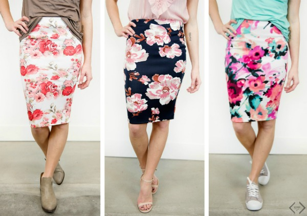 Floral Skirts $19.95
