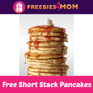 Free Short Stack Pancakes at IHOP Feb. 27