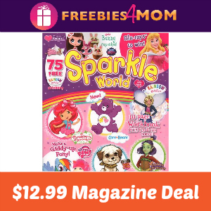 Magazine Deal: Sparkle World $12.99