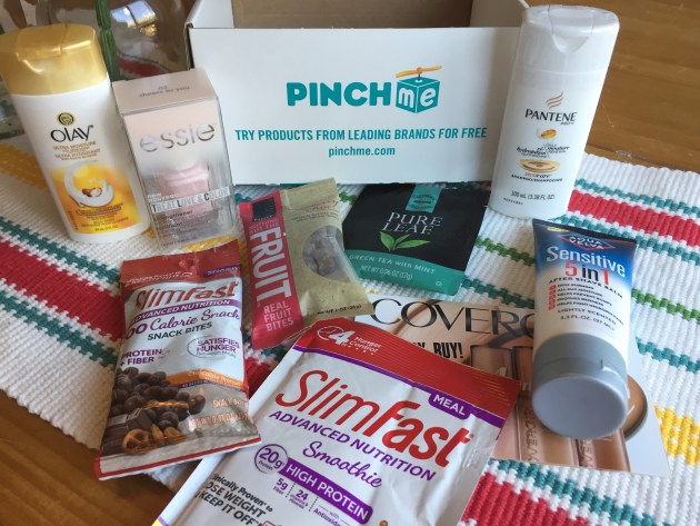 Free Samples from PinchMe on April 11 at 11am CT