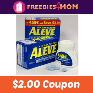 Coupon: $2.00 off one Aleve