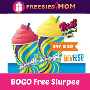 BOGO Free Slurpee at 7-Eleven (thru 4/16)