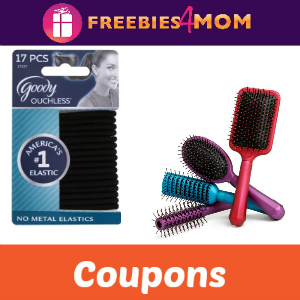 Save on Goody Hair Brushes and Elastics