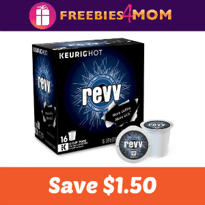 Coupon: $1.50 off revv Coffee K-Cup Pods