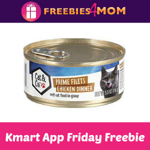 Free Cat & Co. Canned Cat Food at Kmart