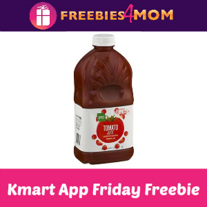 Free Tomato Juice at Kmart