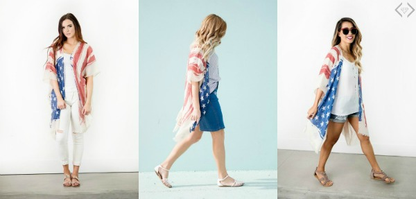 40% off Americana Fashion (Starting under $6)