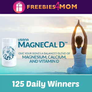 Sweeps Dr Oz USANA MagneCal D