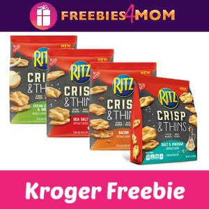 Free Ritz Crisp & Thins Chips at Kroger