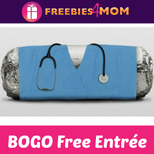 BOGO Free Entrée at Chipotle (for Nurses)