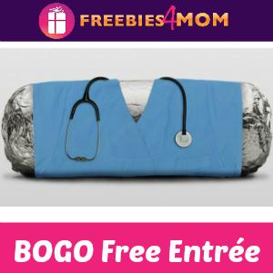 BOGO Free Entrée at Chipotle (for Nurses)