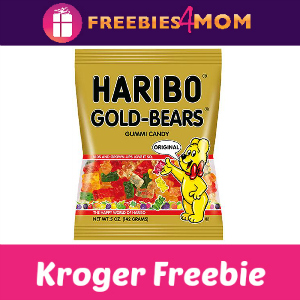 Free Haribo Gummi Candy at Kroger