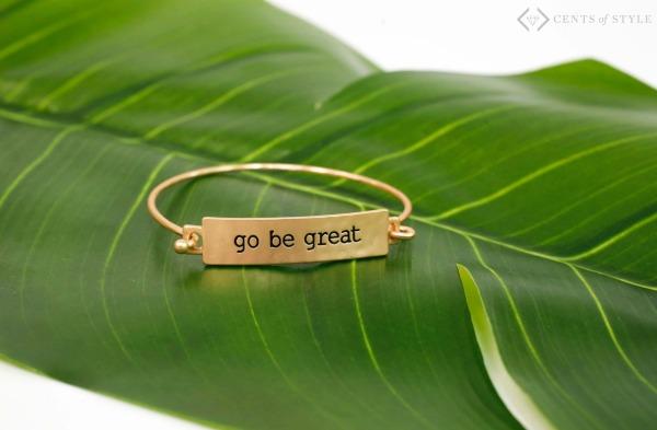 50% Off Go Be Great Tribe Bracelets