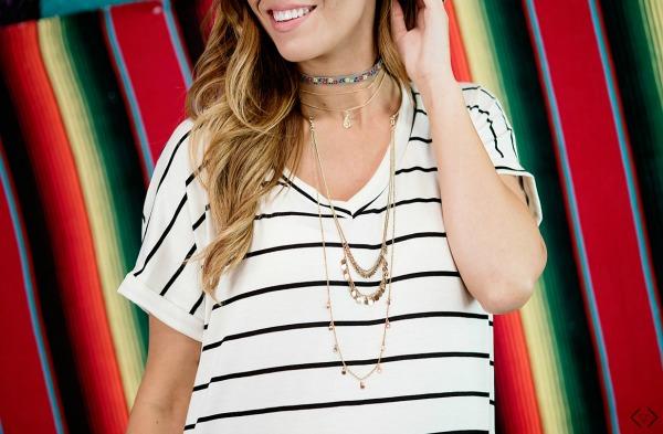 $29.95 Striped Maxi Dress