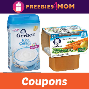 Save with Gerber Baby Foods Coupons