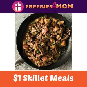 $1 Skillet Meals at Omaha Steaks Aug. 1