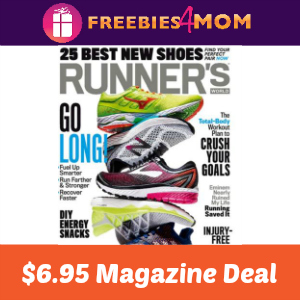 Magazine Deal: Runner's World $6.95