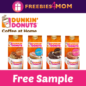 Free Dunkin' Donuts Bakery Series Coffee
