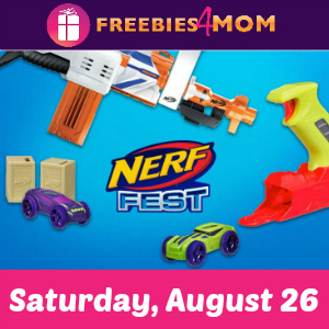 NERF Fest at Toys R Us Aug. 26