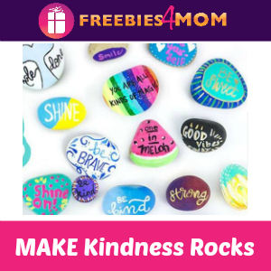 Free MAKE Kindness Rocks Event at Michael's