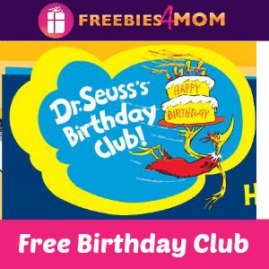 Free Dr. Seuss Birthday Club