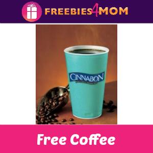 Free Coffee at Cinnabon Sept. 29