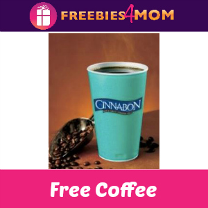 Free Coffee at Cinnabon Sept. 29