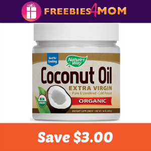 Coupon: Save $3.00 On Nature's Way Coconut Oil