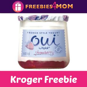 Free Yoplait Oui Yogurt at Kroger