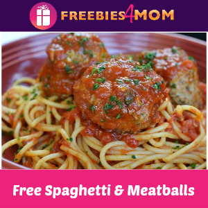 Free Spaghetti & Meatballs at Carrabba's