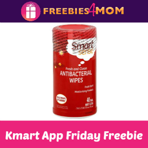 Free Smart Sense Anti-Bacterial Wipes at Kmart