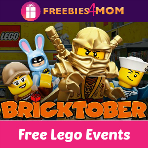 Free Bricktober Lego Events at Toys R Us