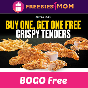 BOGO Free Chicken Tenders at Buffalo Wild Wings Today