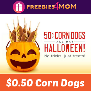 $0.50 Corn Dogs at Sonic Oct. 31