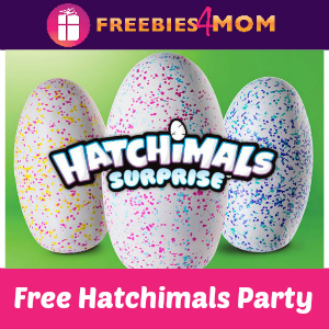 Free Hatchimals Surprise Party at Toys R Us