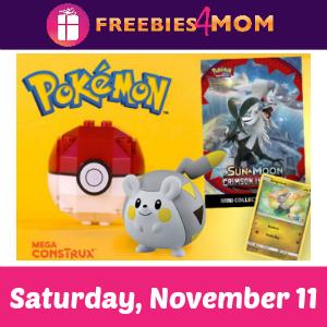 Free Pokémon Event at Toys R Us Nov. 11