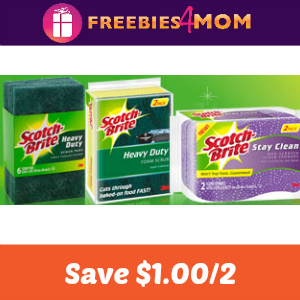 Save $1.00 on any two Scotch-Brite products