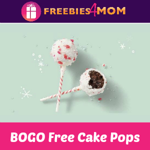 BOGO Free Cake Pops at Starbucks