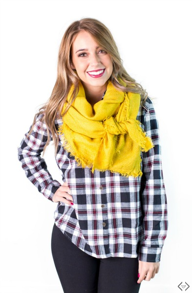 Solid Blanket Scarves $12.95