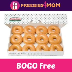 BOGO Free Original Dozen at Krispy Kreme