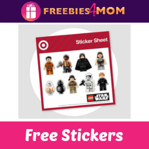Free Star Wars Stickers at Target Dec. 16-17