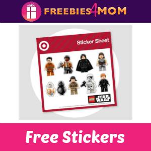 Free Star Wars Stickers at Target Dec. 16-17
