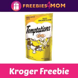 Free Temptations Treats for Cats at Kroger